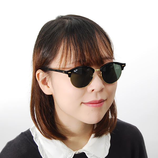 5cb554f83c72 ... Sunglasses with the Ray-Ban club round CLUBROUND sunglasses RB4246 901  51 Ray-Ban ...
