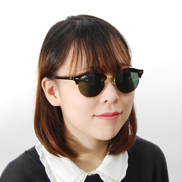 ecfcba351b Sunglasses with the Ray-Ban club round CLUBROUND sunglasses RB4246 990 51  Ray-Ban degree