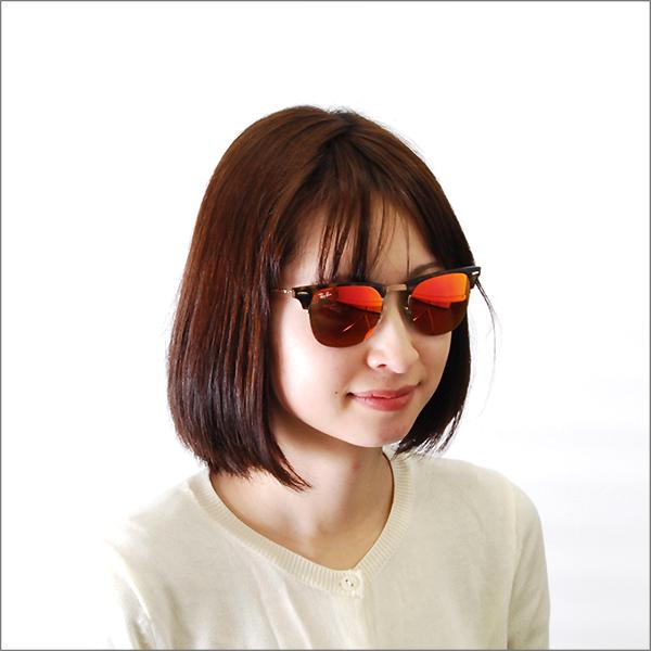 雷斑俱樂部主人太陽眼鏡RB8056 175/6Q 51 Ray-Ban沒鏡片的眼鏡眼鏡CLUBMASTER