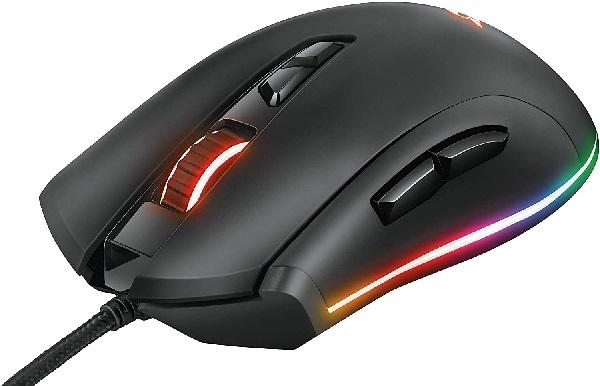 Trust Gaming-GXT 900 Qudos RGB Gaming Mouse[新品・正規保証品]