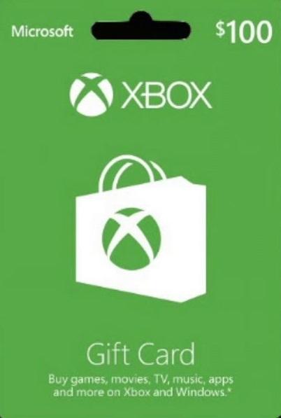 $100(エックスボックスギフトカード $100 北米版)〈Microsoft〉 GIFT Xbox CARD