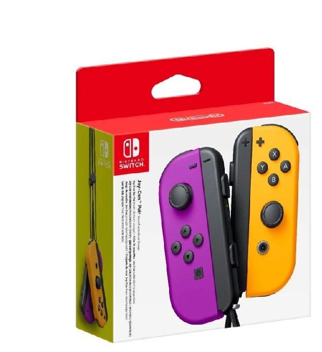 Nintendo Joy-Con L R -Pair 格安 Orange 輸入品 新品 Purple ◇限定Special Price 北米版