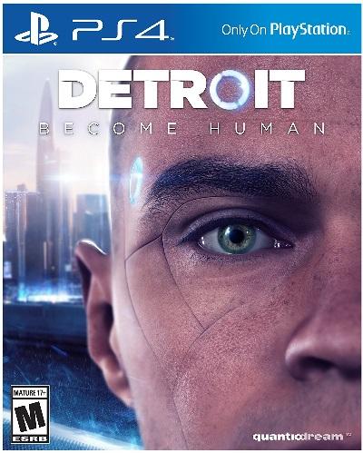 PS4 Detroit Become Human(デトロイトビカムヒューマン 北米版)〈Sony〉[新品]