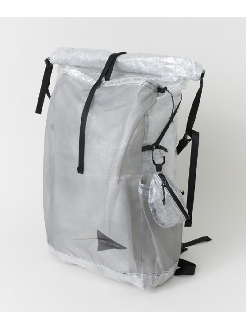 [Rakuten BRAND AVENUE]and wander cuben fiber backpack URBAN RESEARCH アーバンリサーチ バッグ【送料無料】
