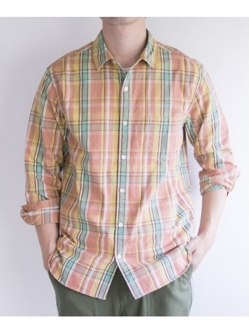 [Rakuten BRAND AVENUE]FREEMANS SPORTING CLUB JP HEAVY CHECK WORK SHIRTS URBAN RESEARCH アーバンリサーチ シャツ/ブラウス【送料無料】