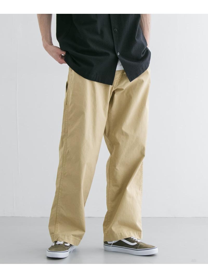 [Rakuten Fashion]MASTER&Co.×URBANRESEARCH別注ペインターパンツ URBAN RESEARCH アーバンリサーチ パンツ/ジーンズ パンツその他 ベージュ ブラウン【送料無料】