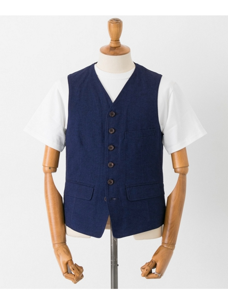 [Rakuten BRAND AVENUE]【SALE/40%OFF】FREEMANS SPORTING CLUB JP C/L MATT VEST URBAN RESEARCH アーバンリサーチ カットソー【RBA_S】【RBA_E】【送料無料】