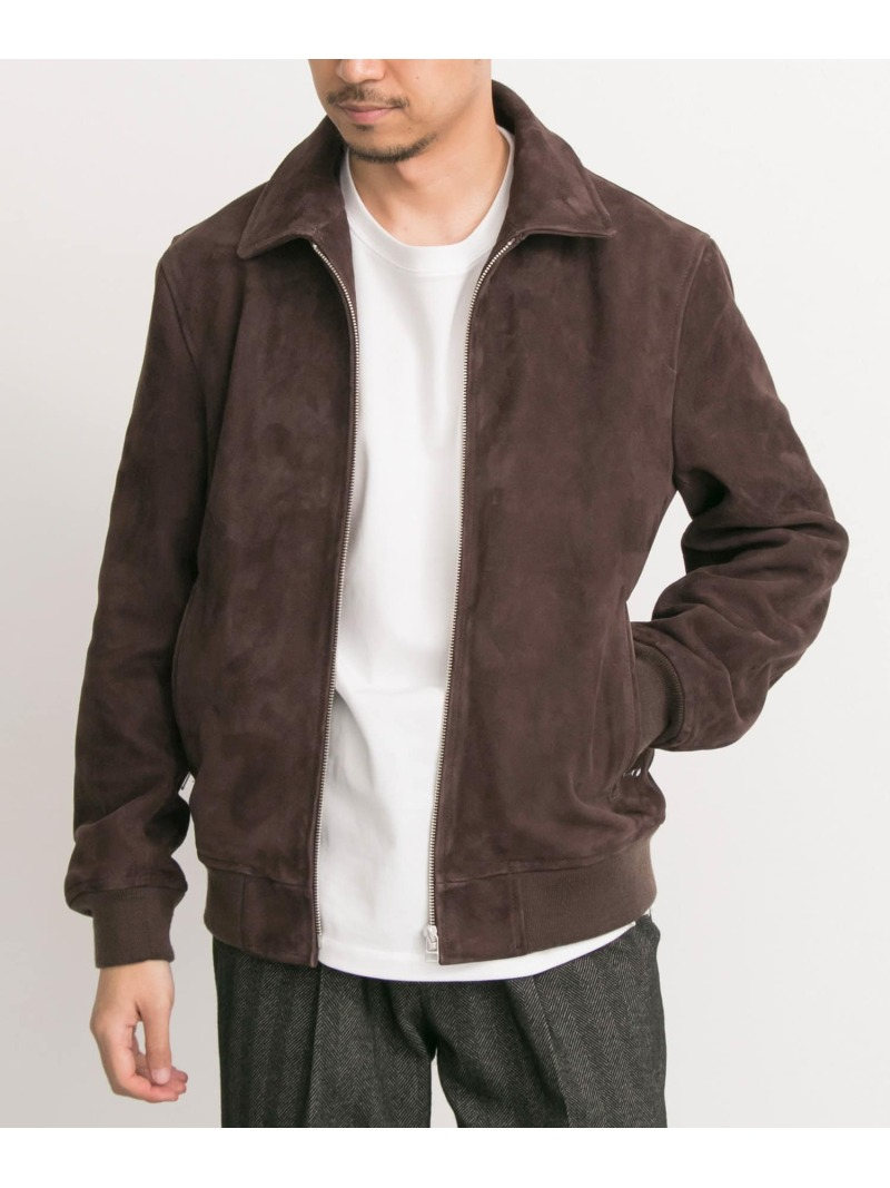 [Rakuten BRAND AVENUE]FREEMANS SPORTING CLUB JP GOAT SUEDE SPORTS JACKET URBAN RESEARCH アーバンリサーチ コート/ジャケット【送料無料】