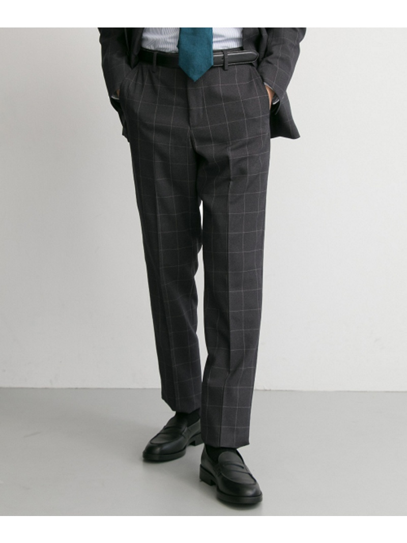 [Rakuten BRAND AVENUE]URBAN RESEARCH Tailor アーバンアスレチックウインドウペンパンツ URBAN RESEARCH アーバンリサーチ パンツ/ジーンズ【送料無料】