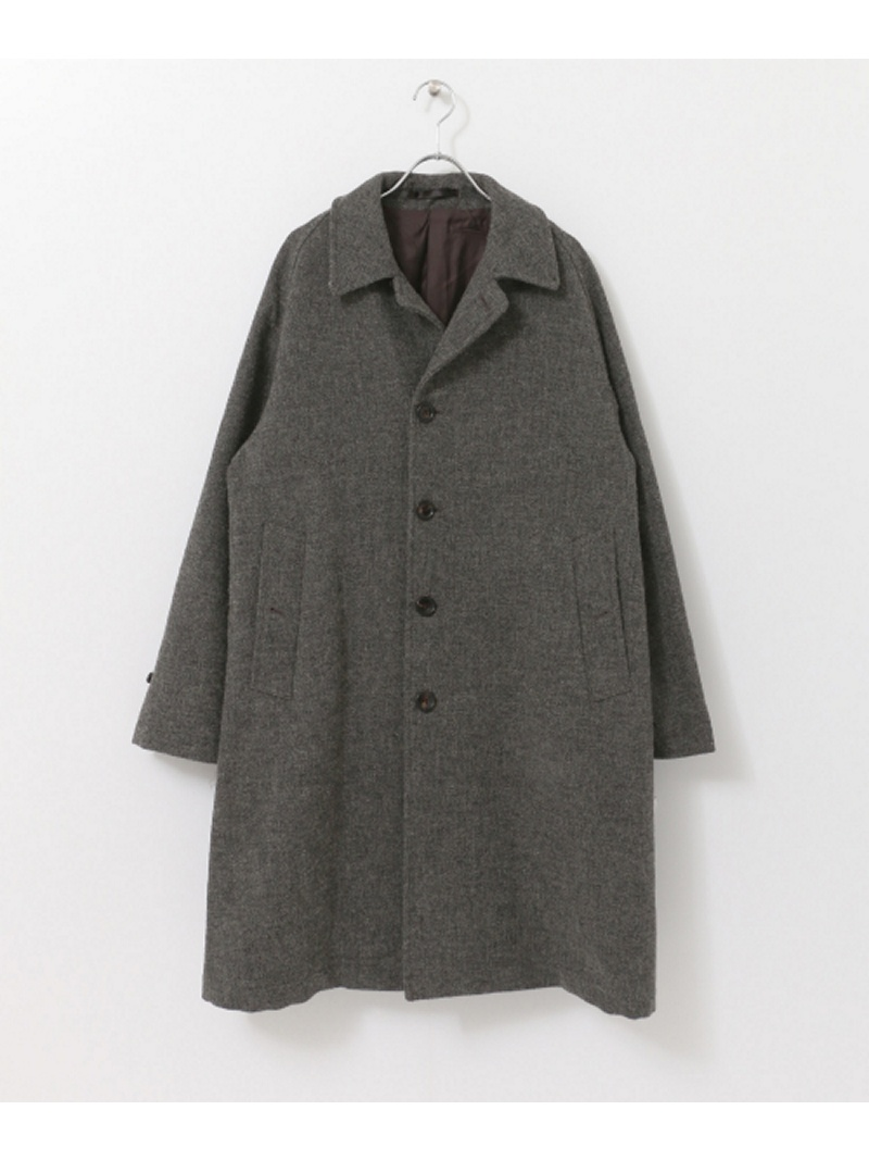[Rakuten BRAND AVENUE]【SALE/30%OFF】FREEMANS SPORTING CLUB JP TWEED OVER COAT URBAN RESEARCH アーバンリサーチ コート/ジャケット【RBA_S】【RBA_E】【送料無料】