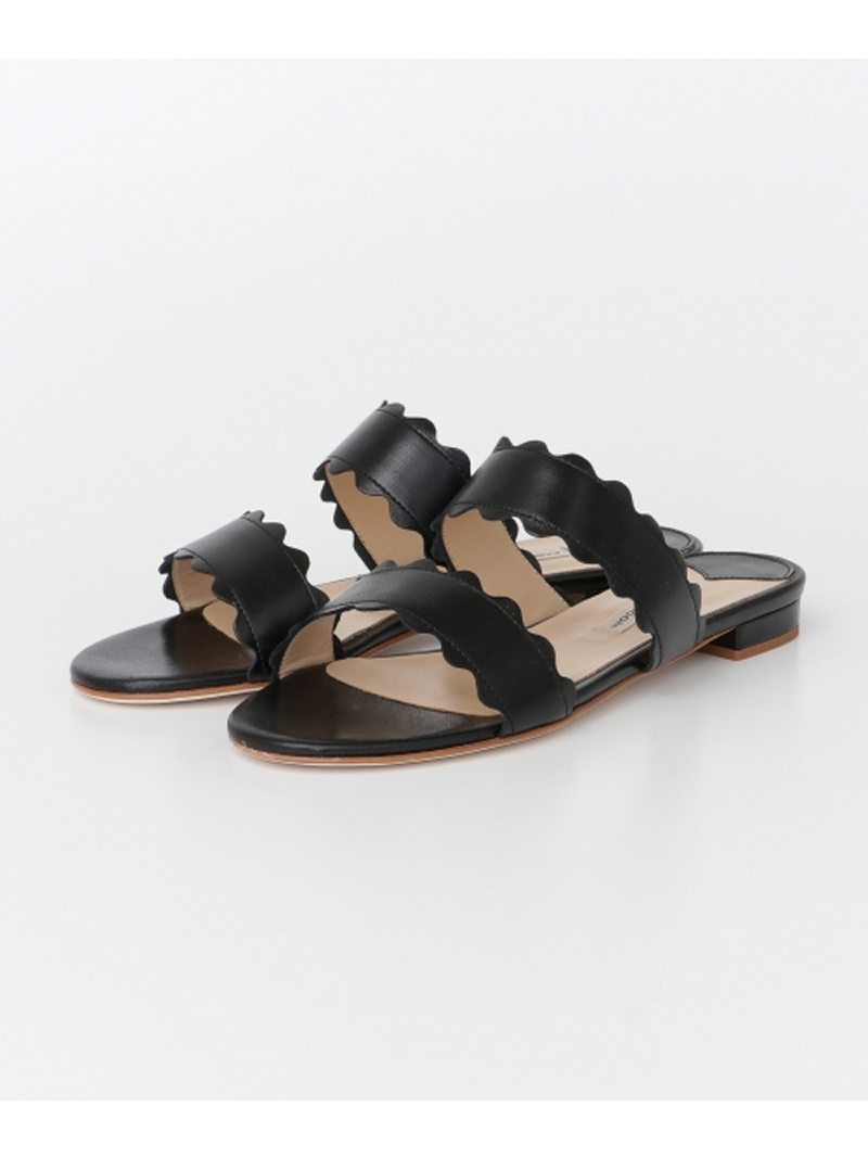[Rakuten BRAND AVENUE]【SALE/40%OFF】FABIO RUSCONI SCALLOP FLAT SANDAL URBAN RESEARCH アーバンリサーチ シューズ【RBA_S】【RBA_E】【送料無料】