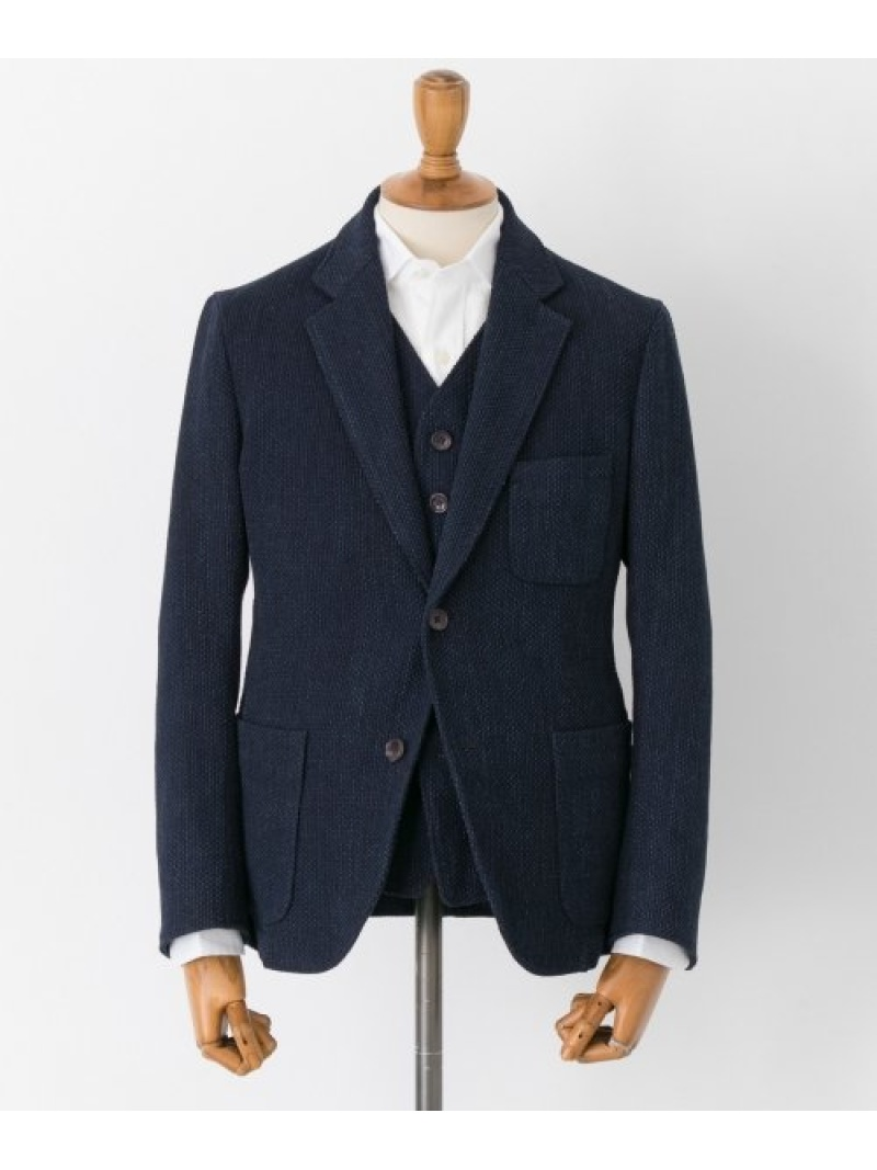 [Rakuten BRAND AVENUE]FREEMANS SPORTING CLUB JP INDIGO SASHIKO 2BSHACKET URBAN RESEARCH アーバンリサーチ コート/ジャケット【送料無料】