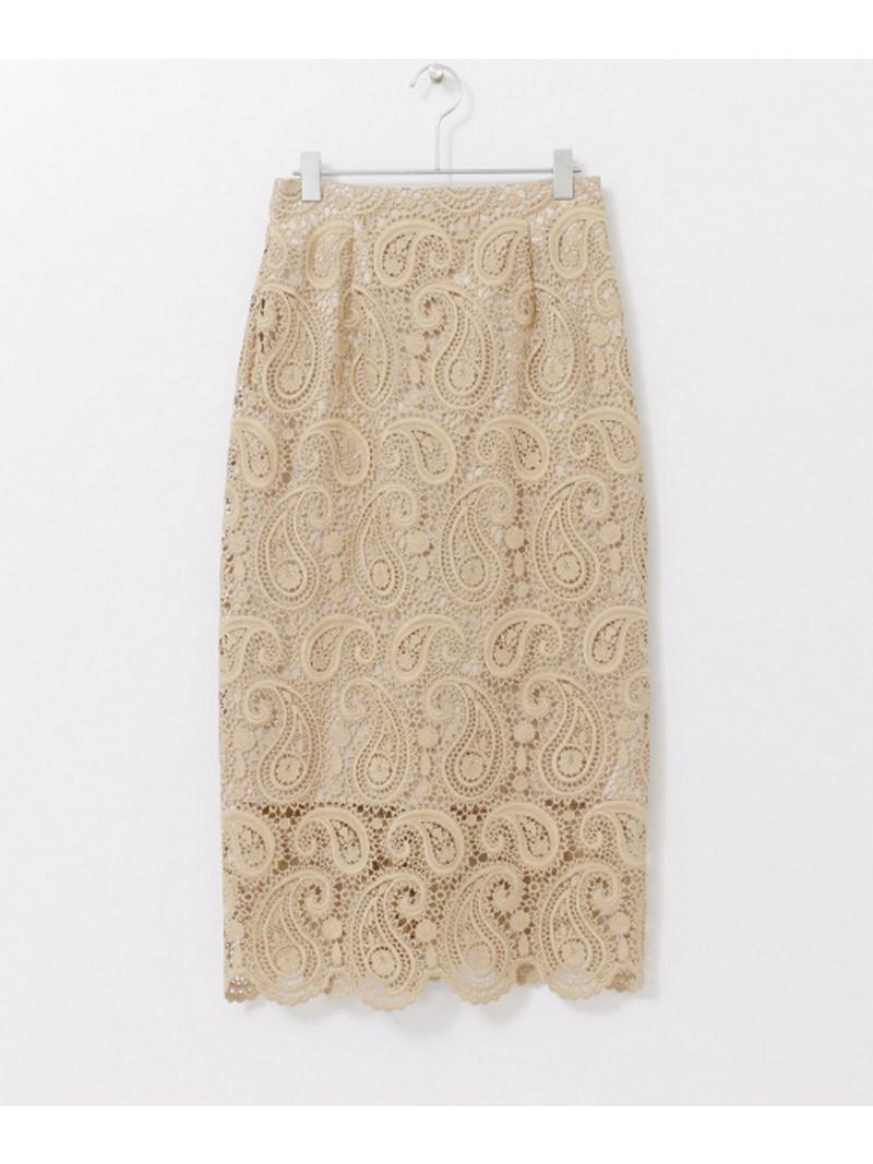 [Rakuten BRAND AVENUE]CELFORD ペイズリーレースタイトスカート URBAN RESEARCH アーバンリサーチ スカート【送料無料】