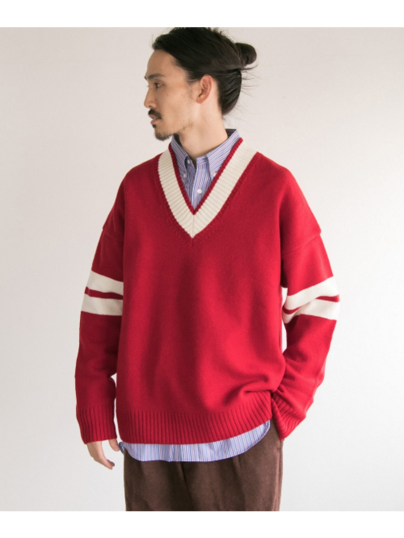 [Rakuten BRAND AVENUE]【SALE/40%OFF】COSEI LETTER V KNIT URBAN RESEARCH アーバンリサーチ ニット【RBA_S】【RBA_E】【送料無料】