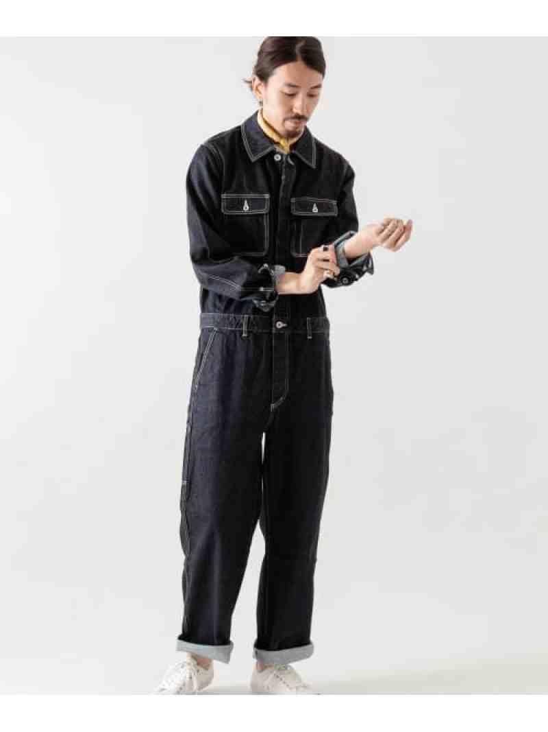 [ Fashion]デニムボイラースーツ WORK NOT WORK ワーク・ノット・ワーク パンツ/ジーンズ サロペット/オールインワン ブルー【送料無料】