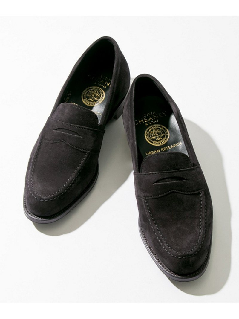 [Rakuten BRAND AVENUE]CHEANY×URBAN RESEARCH 別注SUEDE LOAFER URBAN RESEARCH アーバンリサーチ シューズ【送料無料】