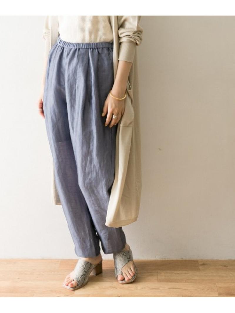 [Rakuten Fashion]リネンナイロンラフパンツ URBAN RESEARCH アーバンリサーチ パンツ/ジーンズ パンツその他 ブルー ホワイト グレー【送料無料】
