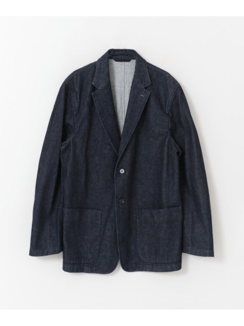 [Rakuten Fashion]FREEMANSSPORTINGCLUB2PATCHJACKET URBAN RESEARCH アーバンリサーチ コート/ジャケット デニムジャケット ブルー【送料無料】