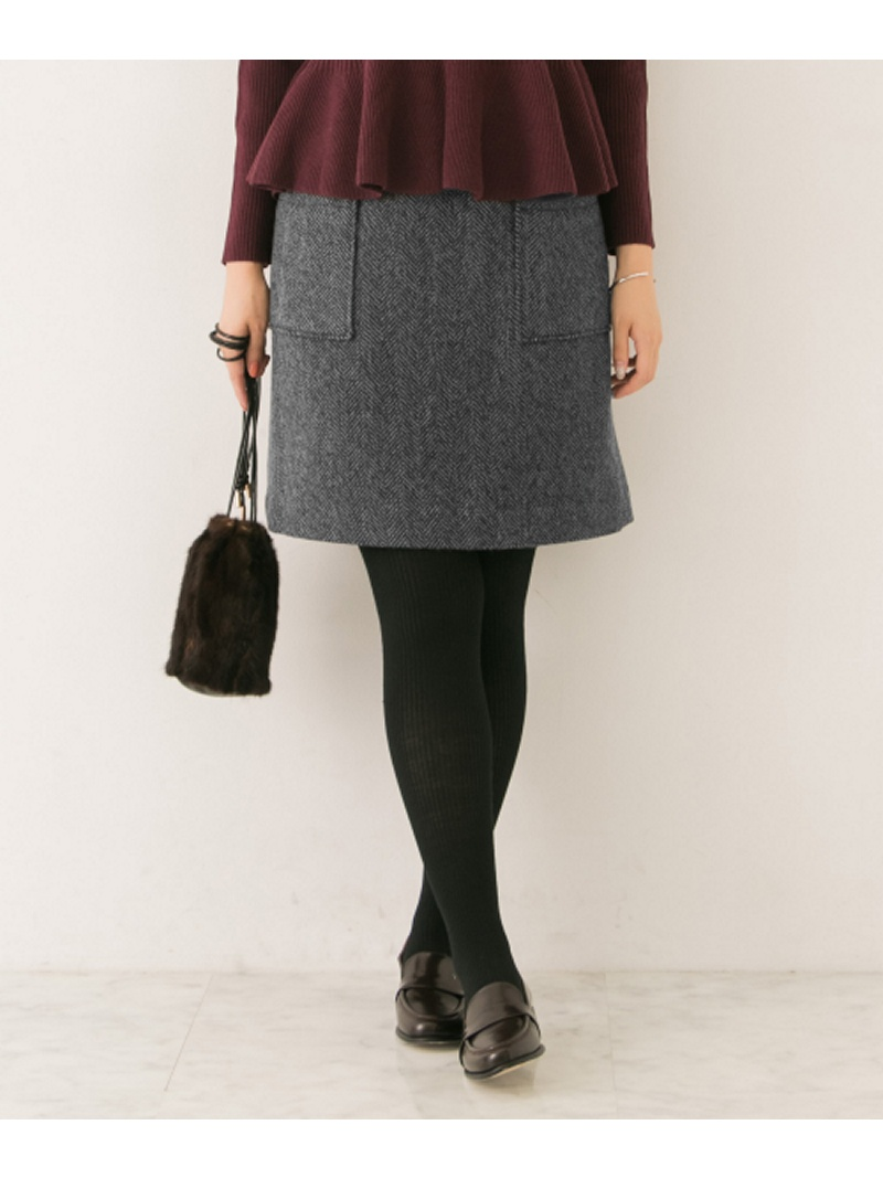 [Rakuten BRAND AVENUE]台形ミニスカート URBAN RESEARCH アーバンリサーチ スカート【送料無料】