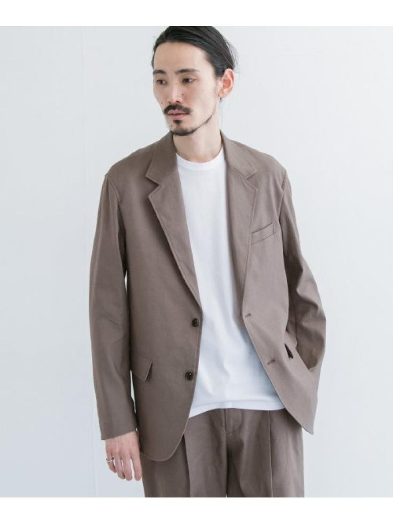 [Rakuten Fashion]リネンストレッチジャケット URBAN RESEARCH アーバンリサーチ コート/ジャケット コート/ジャケットその他 ベージュ ホワイト【送料無料】