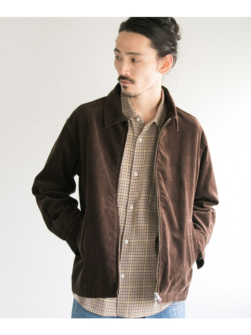 [Rakuten BRAND AVENUE]【SALE/30%OFF】CORDUROY ZIP BLOUSON URBAN RESEARCH アーバンリサーチ コート/ジャケット【RBA_S】【RBA_E】【送料無料】
