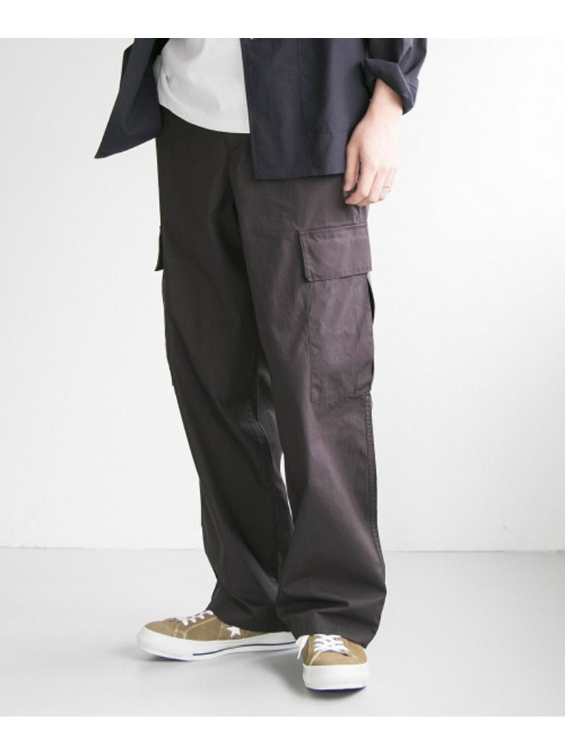 [Rakuten BRAND AVENUE]poplin wide cargo pants URBAN RESEARCH アーバンリサーチ パンツ/ジーンズ【送料無料】