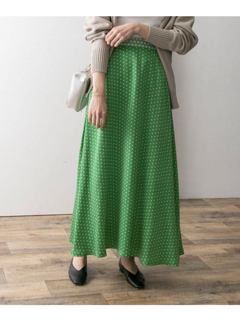 [Rakuten BRAND AVENUE]小紋幾何柄マーメイドスカート アーバンリサーチ スカート【送料無料】