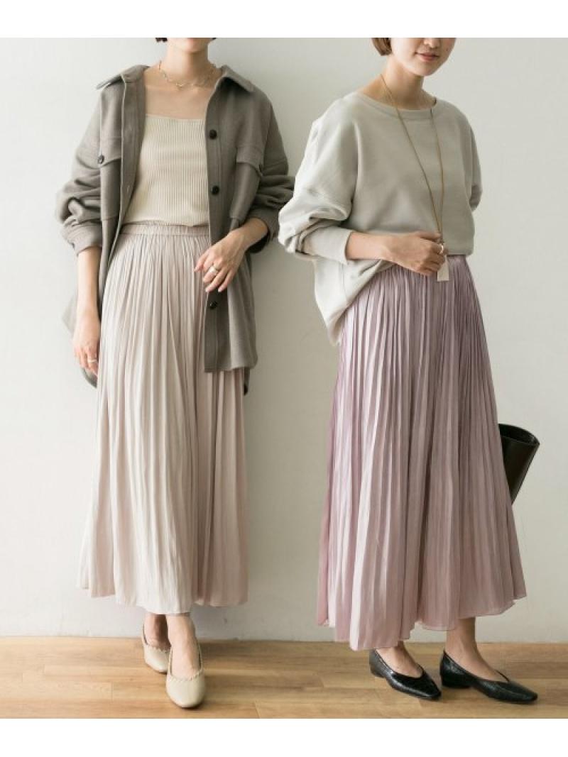 [Rakuten Fashion]プリーツギャザーリバースカート URBAN RESEARCH アーバンリサーチ スカート スカートその他【送料無料】