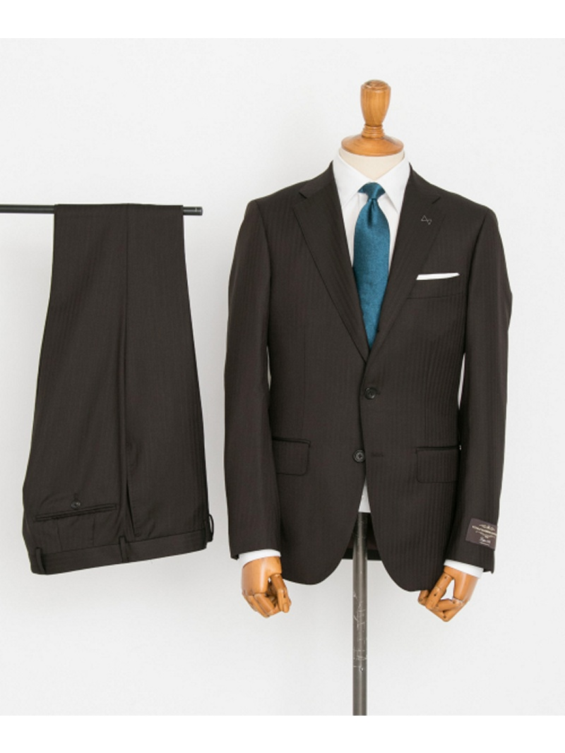 [Rakuten BRAND AVENUE]URBAN RESEARCH Tailor カノニコヘリンボンスーツ URBAN RESEARCH アーバンリサーチ ビジネス/フォーマル【送料無料】