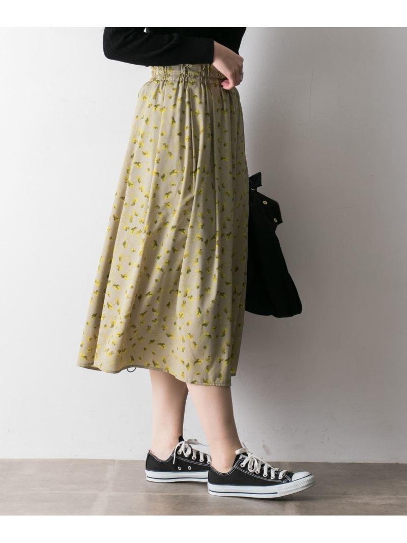 [Rakuten BRAND AVENUE]レトロフラワースカート URBAN RESEARCH アーバンリサーチ スカート【送料無料】