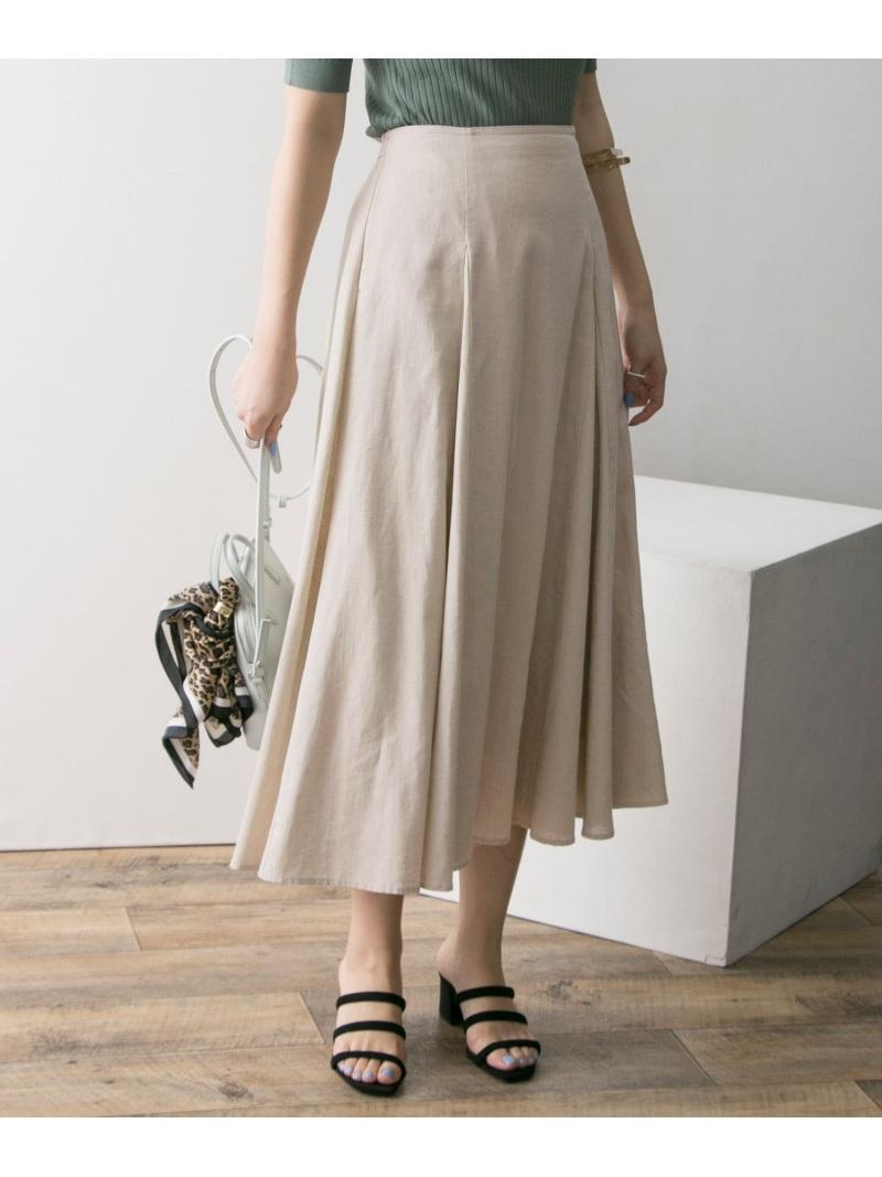 [Rakuten BRAND AVENUE]高機能リネンフレアスカート URBAN RESEARCH アーバンリサーチ スカート【送料無料】