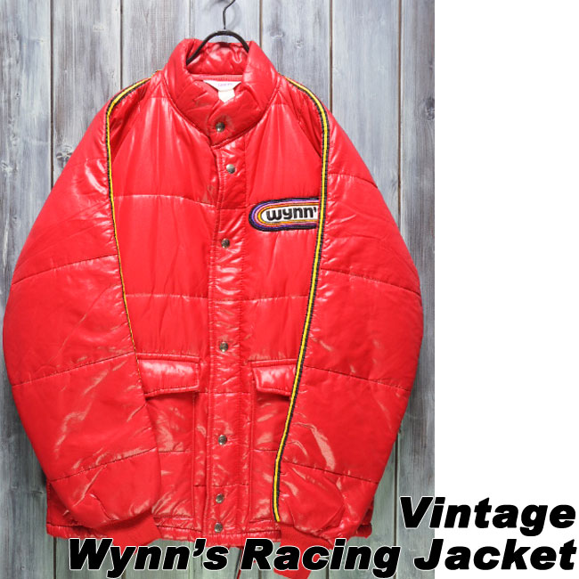 【ajito】Happyend ハッピーエンド Wynn'S Racing Jacket ウィンズ レーシング ジャケット ビンテージ モーターサイクルジャケット バイクウェア ヴィンテージ スタジャン