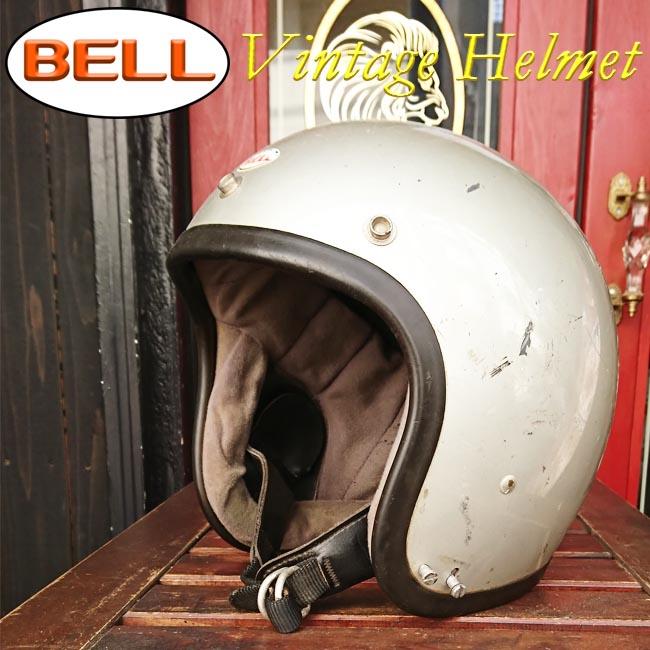 ajito BELL SUPER MAGNUM ジェット ヘルメット シルバー ベル スーパーマグナム ビンテージ ヴィンテージ モーターサイクル 7 1/2 (約60cm) バイク ハーレー