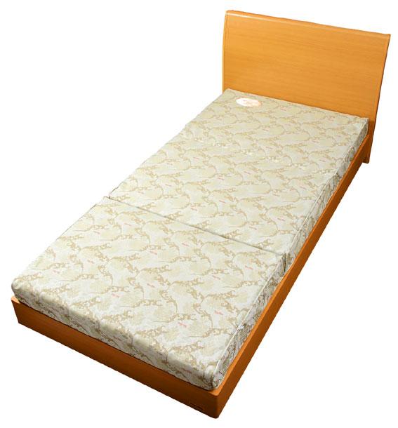 フローリングや畳でゆったり寝られるロングサイズ【正しい寝姿勢を保つ キャップロール リセル (敷布団にもマットレスにも)[シングルロング] 】