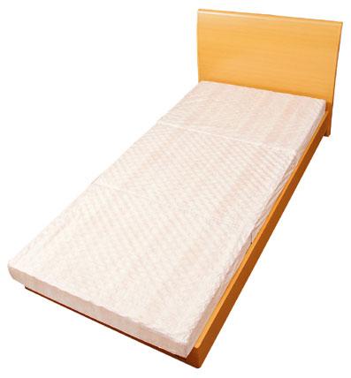 【柄おまかせ】約1300個の点で体を支え血行を妨げず快適な寝心地です。【ABLE 体圧分散型敷布団 90m/mPF敷ふとん [シングル/S]】
