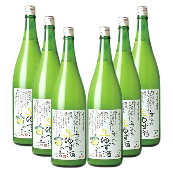 【送料無料一部地域除く】松浦 1800ml/6本 生ゆず酒の素 無添加