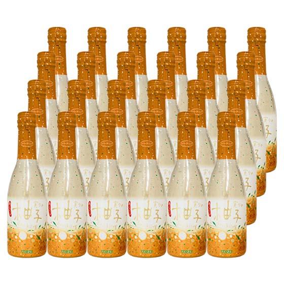 梅乃宿 実りのスパークリング「柚子」 5° 250ml 24本セット
