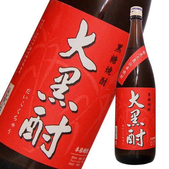 奄美特産の黒糖焼酎! 大黒酎(25゜) 黒糖焼酎1800ml