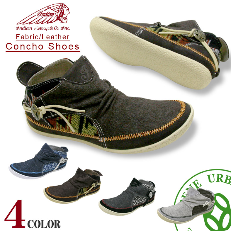 印度 Moto 週期 indianmotocycle 康喬運動鞋 (ind-11301/ind-12301) 莫卡辛滑男式女式鞋運動鞋印度皮革面料樂天 10P28Sep16