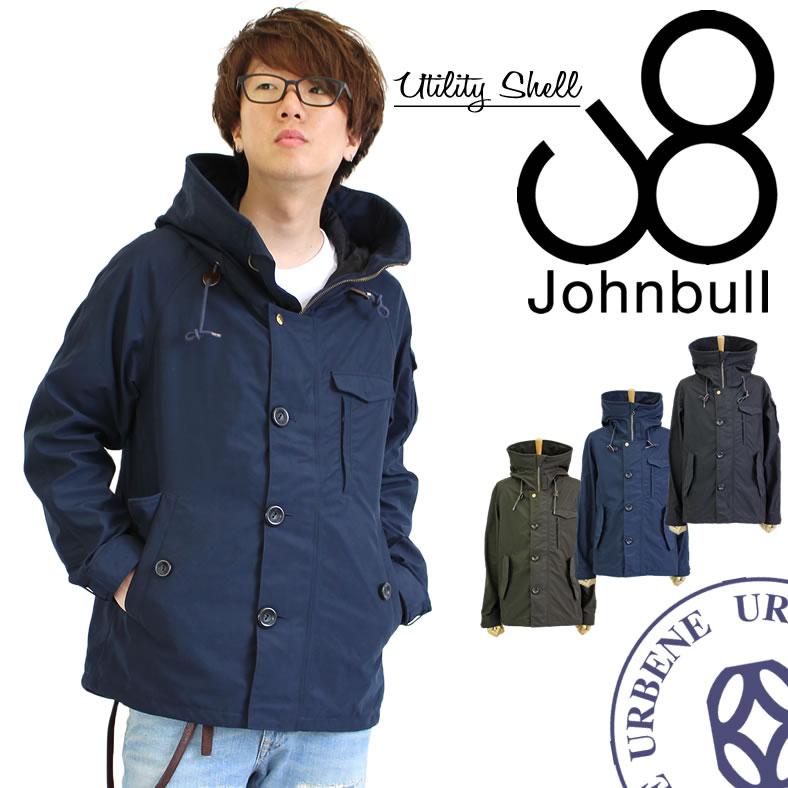 ジョンブル メンズ Johnbull メンズ ユーティリティシェル テトラテックス ジャケット(16537) メンズファッション アウター ジャンパー ブルゾン マウンテンパーカ John bull