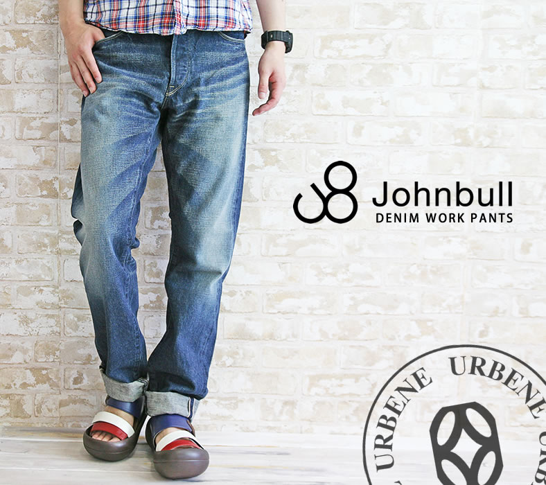 【30%OFFセール】ジョンブル メンズ Johnbull オールドジーンズ(デニムパンツ 11657) ボトムス ジーンズ セルビッチ ワークパンツ 送料無料 John bull