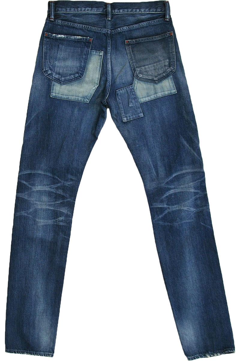 【ポイント10倍】エターナル ジーンズ ETERNAL 備中倉敷工房 リメイクジーンズ 5ポケットデニムパンツ ストレートジーンズ (93236) ダメージジーンズ メンズ ボトムス  楽天