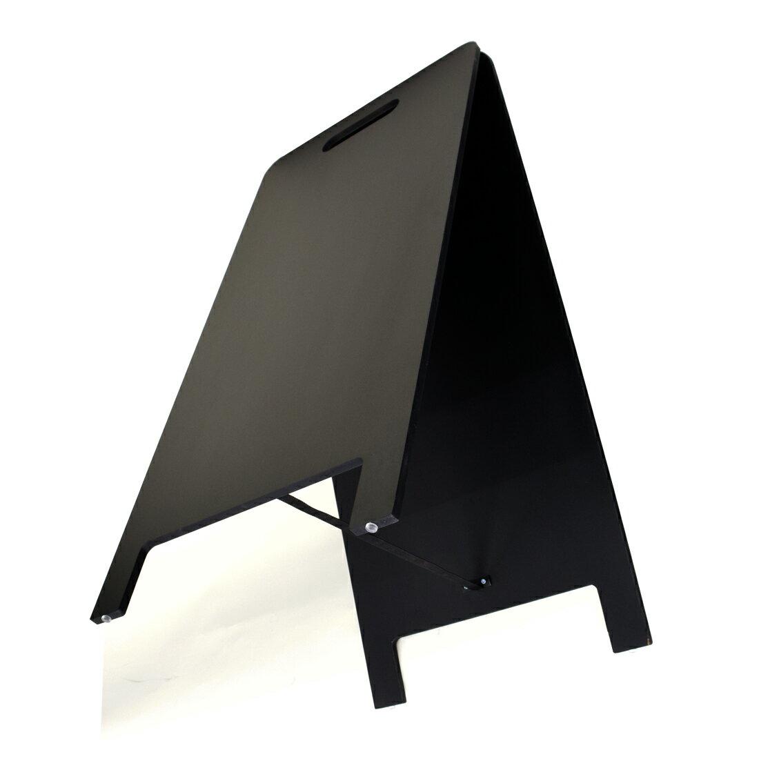 A型看板ブラックボードハンド式78Sマーカーチョーク|黒板看板 メニューボード インテリア  カフェ