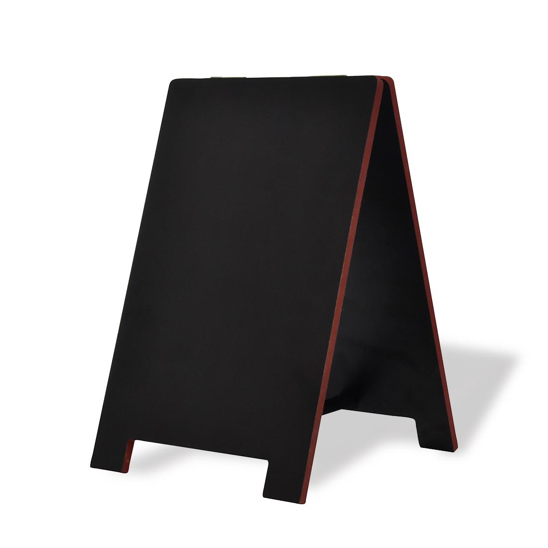 【送料無料】 A型ブラックボード 卓上型 15W 両面 マーカー チョーク ミニ mini黒板|黒板 木製 メニューボード a型看板 インテリア 店舗備品 ディスプレイ