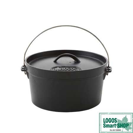 【送料無料】ロゴス LOGOS SL ダッチオーブン 10inch ディープ (バッグ付) 81062229 鍋 料理 調理 キャンプ コンロ グリル
