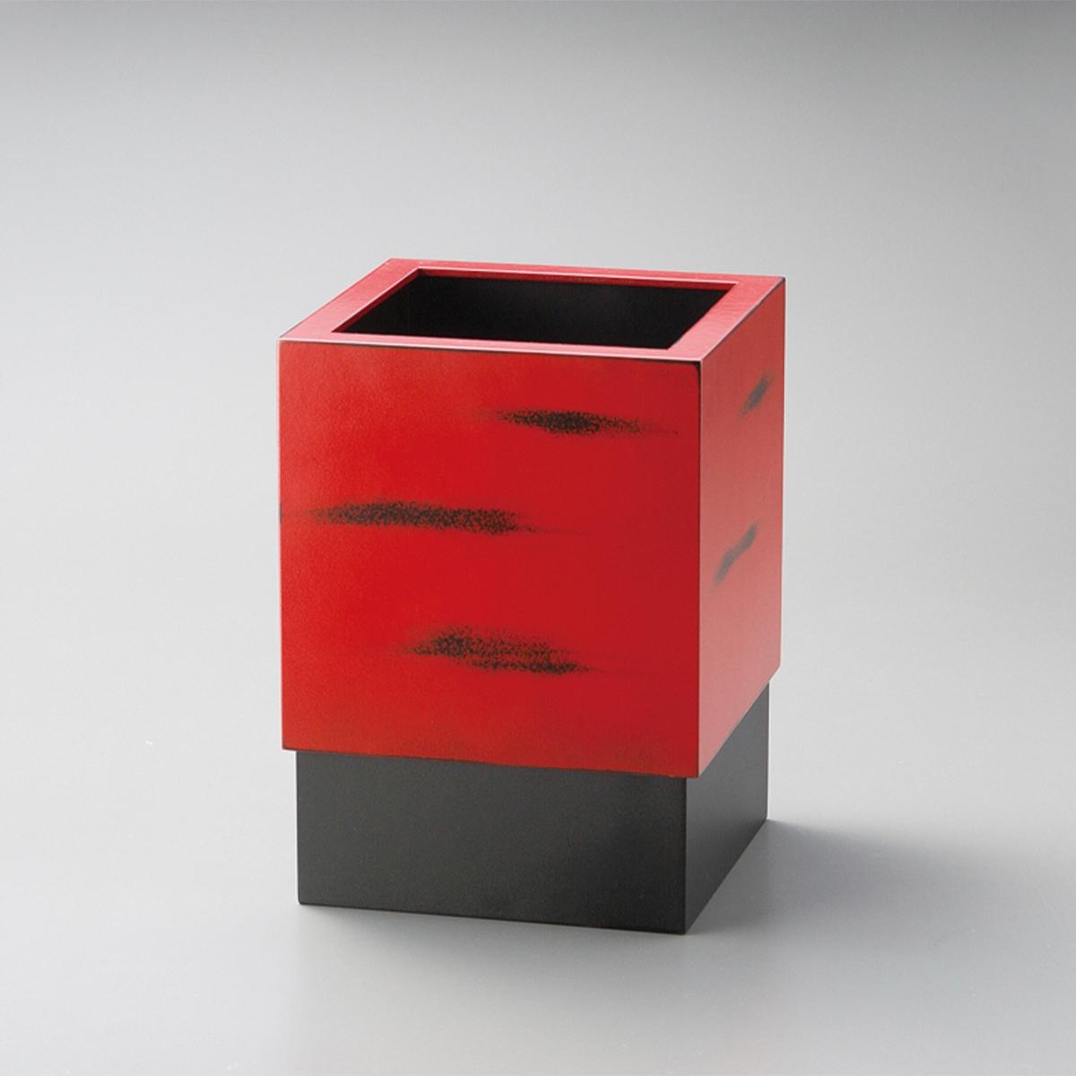 【ポイント 3倍中!更にクーポン】くず入れ(根来)宮内庁御用達 日本製 来客 艶 上品 器 漆器 高級 おすすめ 箱 生活用品 生活雑貨 ゴミ箱 くず入れ ダストボックス くずかご オシャレ リビング トラッシュボックス