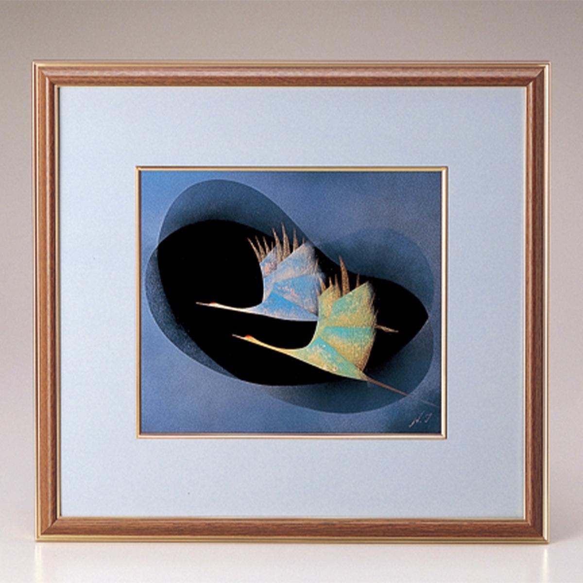 【ポイント 3倍中!更にクーポン】二羽鶴 パネル宮内庁御用達 パネル 日本製 来客 艶 上品 記念品 漆器 高級 おすすめ おもてなし ギフト 海外 ノベルティ インテリア 壁掛け 置物 法人ギフト 設立記念