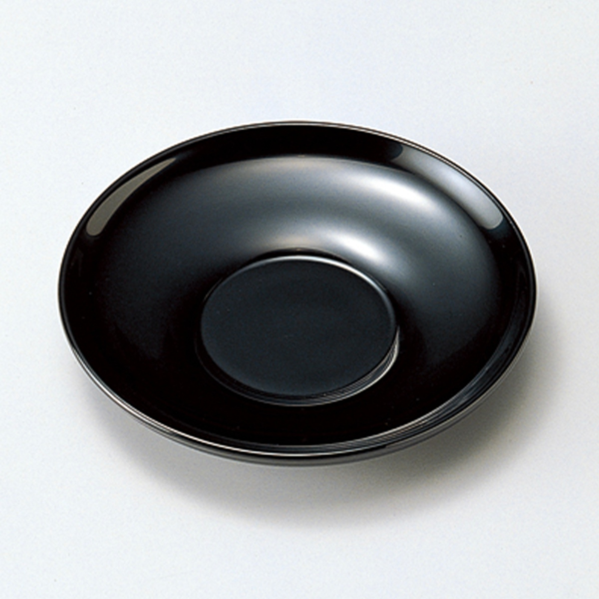【ポイント 3倍中!更にクーポン】4.0茶托(黒)5枚セット宮内庁御用達 木製 日本製 来客 越前漆器 うるし 上品 器 テーブル小物 漆器 漆塗 手塗 高級 おすすめ キッチン雑貨 茶道具 おもてなし コースター 5枚揃い