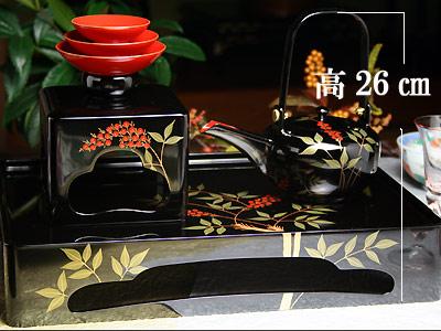 屠蘇器南天 公式通販 木曽の漆器よし彦 メーカー在庫限り品