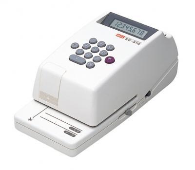 【キャッシュレス5%還元】EC-310 マックス 電子チェックライタ  (CR-10955)【/srm】